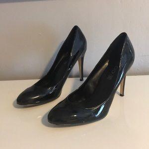 Aldo Black Patent Stiletto Heels Size 41